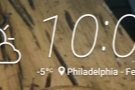 My last day in Philadelphia was (slightly) warmer! And snowing!