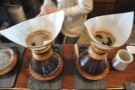 ... home of the Chemex.