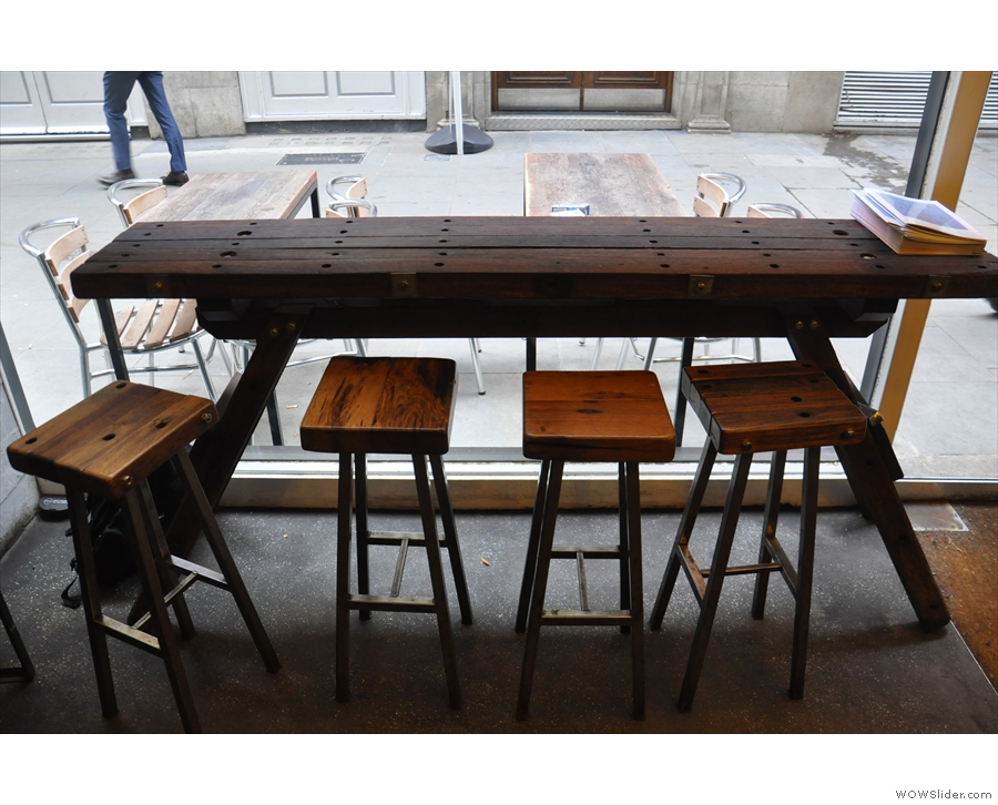 It's this four-person window-bar/table.