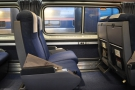 ... but on the inside, the carriages on the long distance trains are even spacious than usual!