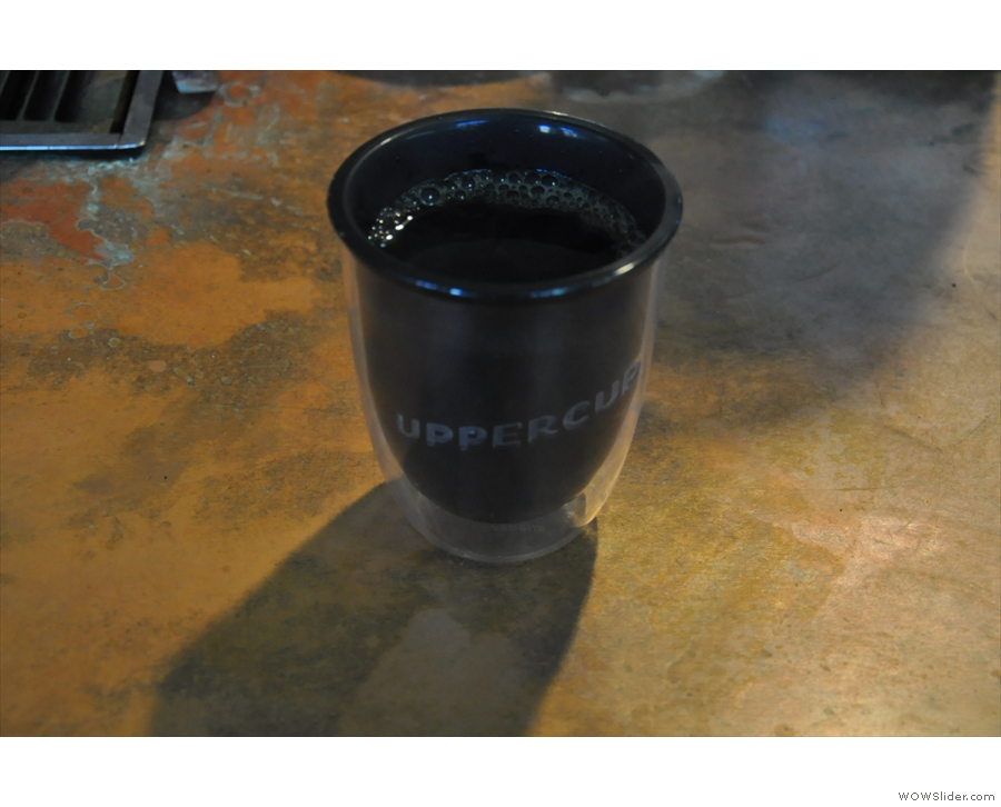 And there we have it: a takeaway filter coffee in my UpperCup.