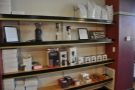 There is lots of coffee-making kit for sale...