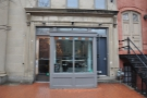 It was a day for touring DC coffee shops: first the unobtrusive Chinatown Coffee Co.