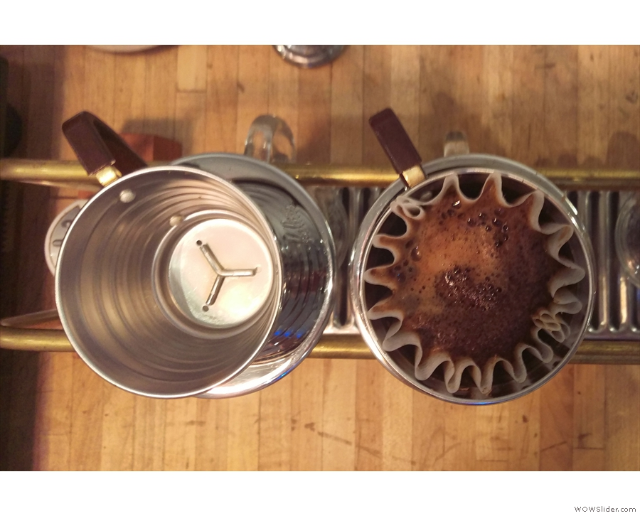 I loved sitting at the counter, geeking out while my coffee was made by Kalita Wave.