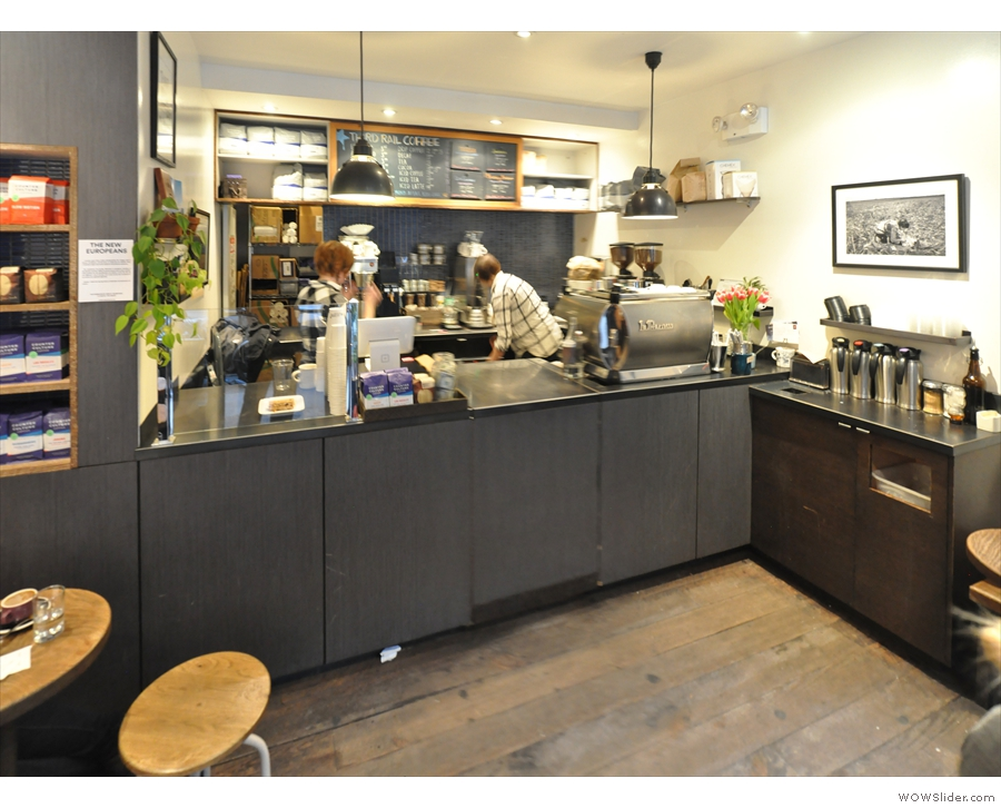It's another cosy little spot, not much bigger than Cafe Grumpy.