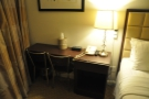 My desk, where I spent quite a lot of that evening, working on Thursday's Coffee Spot.