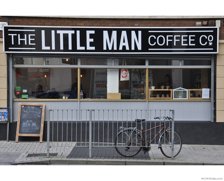 The Little Man Coffee Company Brians Coffee Spot