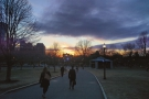I hurried over to Boston Common to try to get a better view...