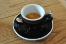 Instead, this is mine, the single-origin espresso, a Guatemala Huehuetenango.