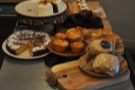 The only real reason to come up here is to cast your eye over the selection of cake.