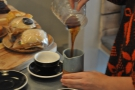 I don't know why, but the simple act of pouring coffee fascinates me.