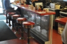 ... and this is how they look now. The counter is different, but the stools look the same.