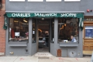 You can imagine my relief when I wandered past yesterday and saw this. Charlie's is back!