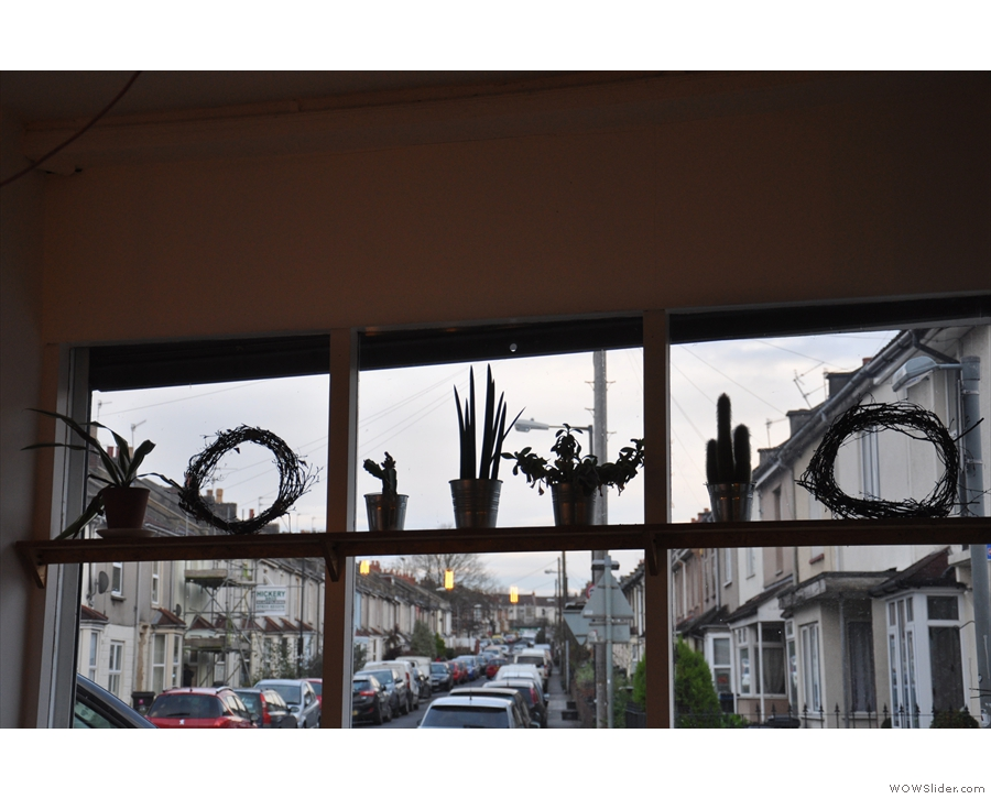 No 12 has lots of nice touches, such as putting cacti in the windows.