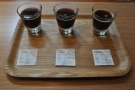 ... where I had this amazing single-origin tasting flight.