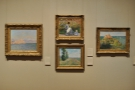 The museum has a fine collection of Impressionist paintings. I saw these in 2013...
