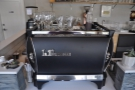 So, what's on offer? Espresso, of course, from the two-group La Marzocco, front & centre.