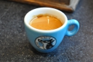 I also tried the guest espresso, a single-origin Rwandan from Roasted Rituals.