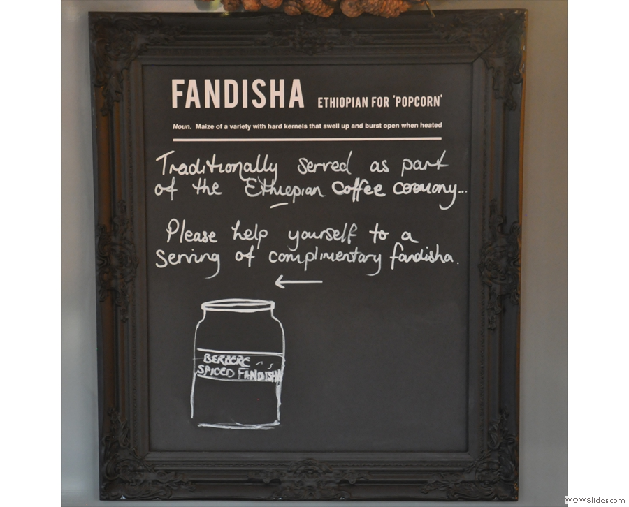 There's a quick explanation of fandisha...