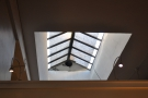 Mind you, there's plenty of natural light too, including from this skylight.