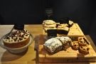 I was there late in the day for coffee and cake. There's an interesting selection of cake...