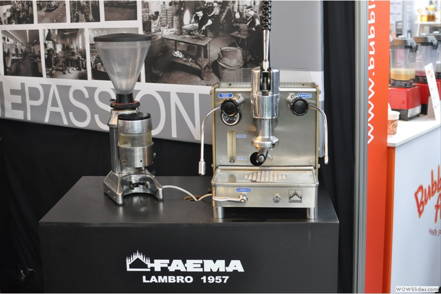 Going back even further is a Lambro lever machine from 1957.