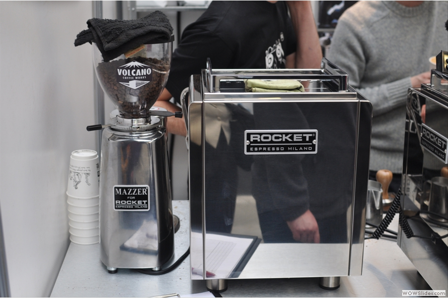 Another Rocket offering. I think this is the dual-boiler R58. Now that is something to aspire to.