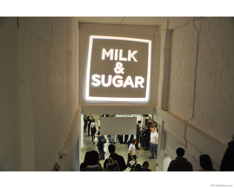 Milk & Sugar was also downstairs, back for another year.