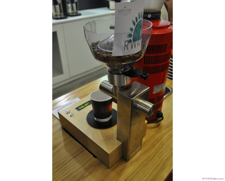 Favourite gadget: the bean-counter from Marco Systems.