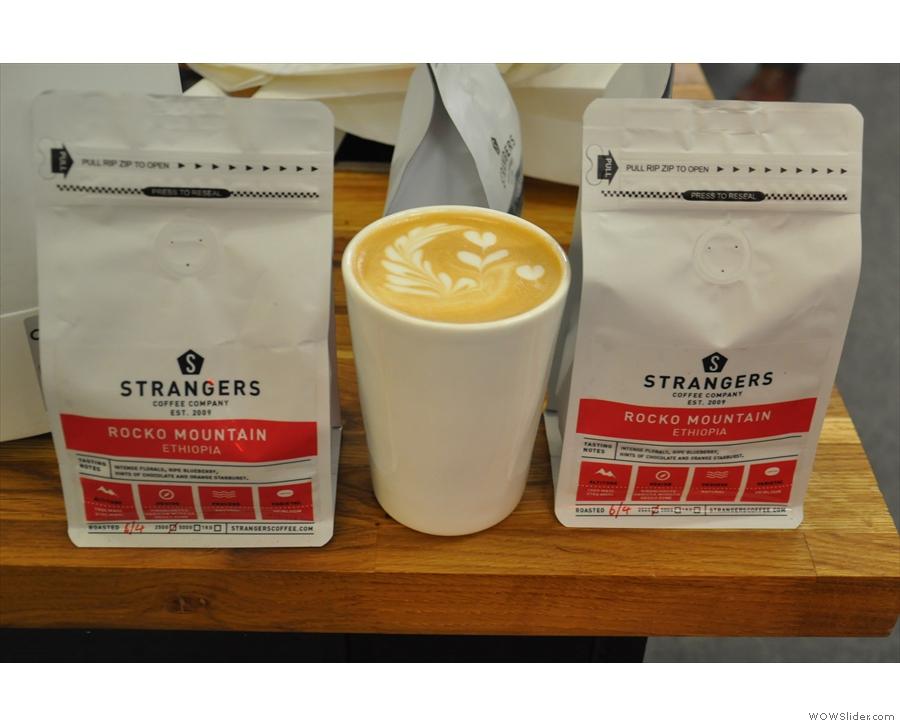 Favourite flat white: Strangers Coffee Ethiopian Rocko Mountain.