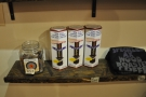 ... as well as retail shelves selling beans, coffee kit and merchandising.