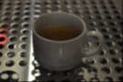 A very poor photograph of a very fine espresso from Talkhouse.