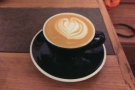 Although I did have this lovely flat white, which I failed to take a great photo of...
