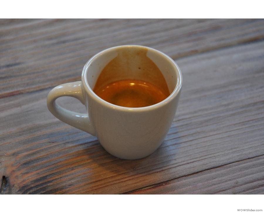 My espresso.