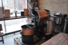 The view from the other side. This roaster is from the appropriately-named US Roaster Corp.