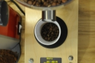 Button pressed and, hey presto! Out come the precise quantity of beans. It's a bean counter!