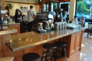 Then comes the brew bar, where you can sit and watch your coffee being made.
