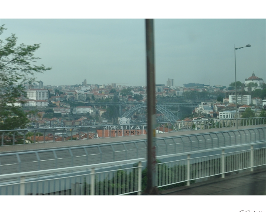 Appropriate, since my first ever view of Porto, in 2003, came as I arrived by train from Lisbon.