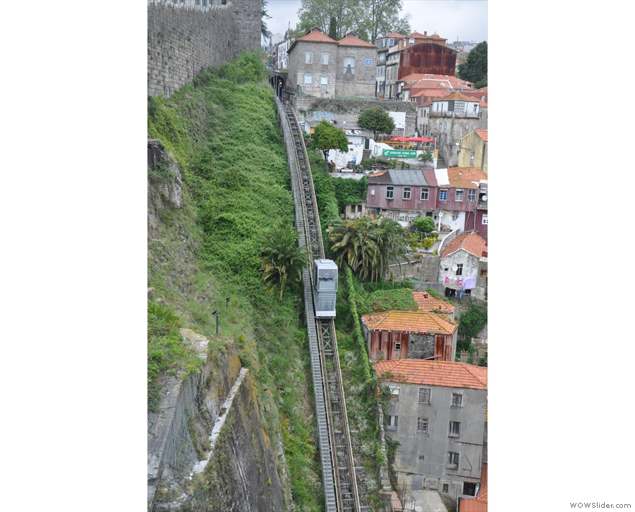 And, given the hills, there's more than one funicular railway!