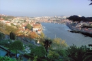 It has spectacular views looking back towards Porto (left) and Vila Nova de Gaia (right)...