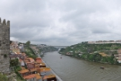 I know which I prefer: this is the view from the top, looking up the River Douro...