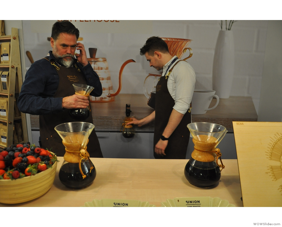 Ooh, look, coffee on tap!