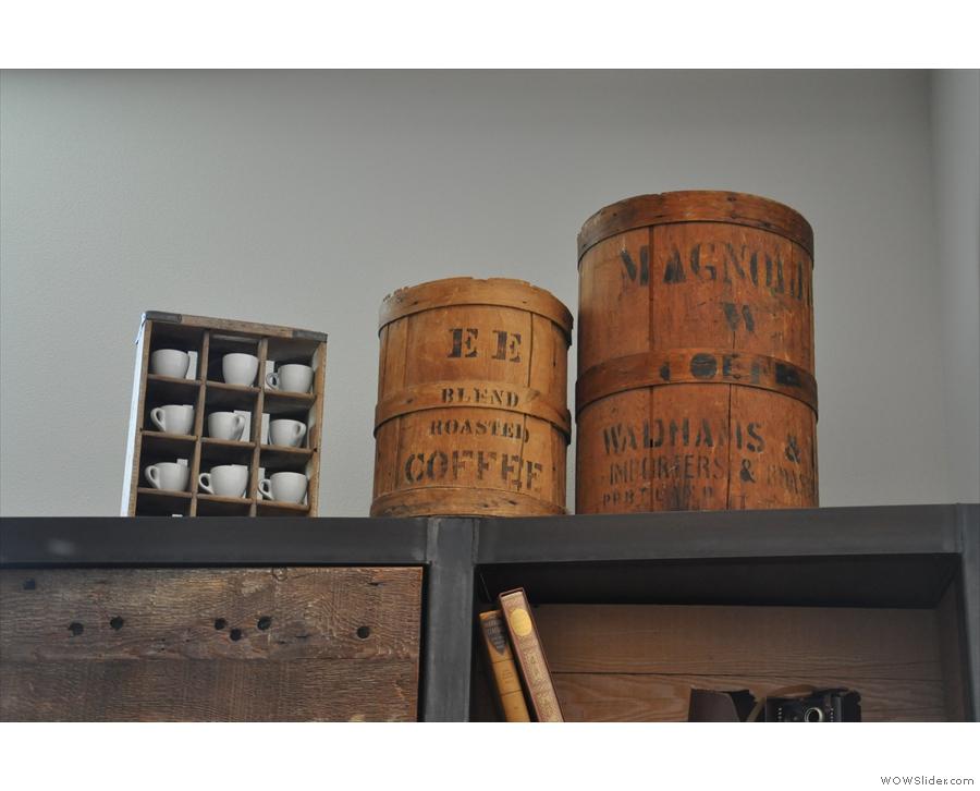 Interesting barrels.