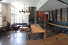 The downstairs seating part of Coava is centred around the lovely communal table.