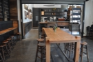 The second space is dominated by this lovely communal table.