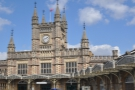 Bristol Temple Meads station, looking very handsome in the spring sunshine. I reckon I might have been standing directly above Hart's when I took this...