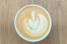 More excellent latte art in my Therma Cup.