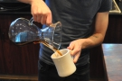 Nice pouring technique.